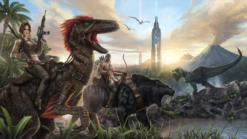 ARK Survival Evolved Server Hosting | GamingDeluxe co uk